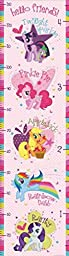 Lunarland MY LITTLE PONY GROWTH CHART PINK Wall Decals Ponies Room Decor Stickers CELESTIA