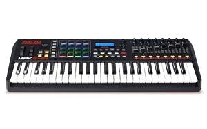 Piano Akai Professional MPK249 de 49 teclas USB MIDI con Drum Pad y con controlador de rendimiento