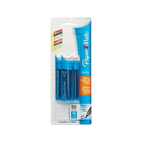 paper-mate-05mm-mechanical-pencil-lead-refills-105-leads