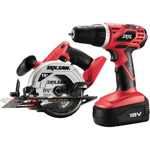 Skil 2860-10-RT 18V Cordless 3/8 in. Drill Driver and Skilsaw Combo Kit