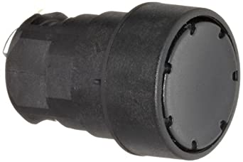 Siemens 3SB20 00-0AB01 Pushbutton, Flat Button, Black