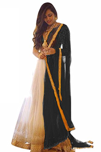 Clickedia-Womens-Silk-Net-Silk-Beige-Black-Semi-Stitched-Lehenga-With-Blouse-Pc
