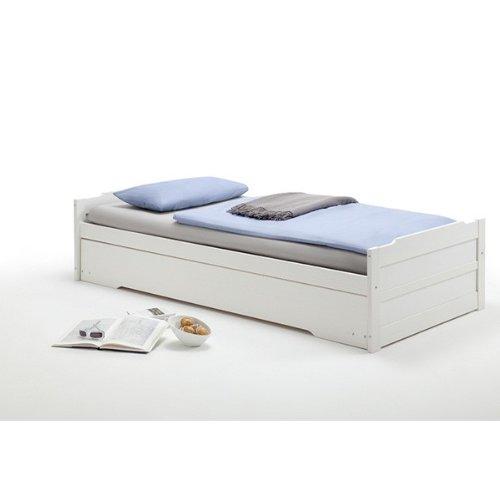 Lits gigognes 90x200cm (lit banquette et tiroir lit) - Cosa - Lits