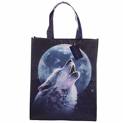 Sous Licence Loup Shopping Sac Shopping-Sac cadeau fête d'anniversaire cadeau de Noël