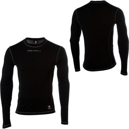 Image of Castelli Wool Long Sleeve Base Layer (B004C08KD8)