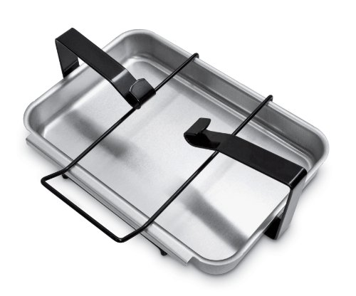 New Weber 7515 Catch Pan and Holder