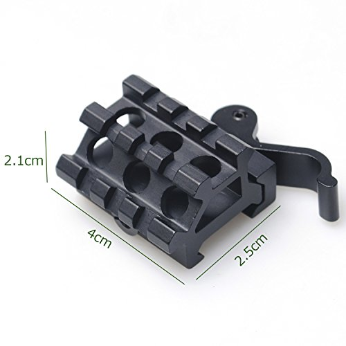 Big Save! CVLIFE K03 Riser Mount Dual Rails Quick Release Adapter Double Slots 90 45 Degree Offset E...