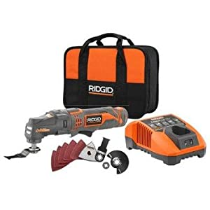 Factory-Reconditioned Ridgid ZRR82236 12V Cordless Lithium-Ion Multi-Tool Starter Kit