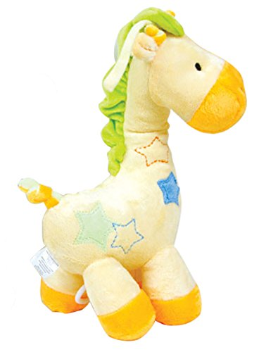 Ct Baby Toy,yellow Giraffe Music Box Plush Baby Toys