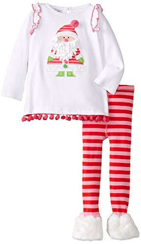 Mud Pie Tunic & Fur Legging Set (6-9 Months) back-80521