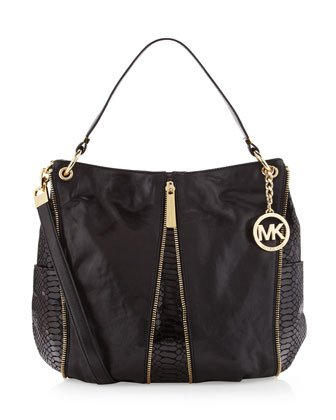 Michael Michael Kors Newman Medium Shoulder Handbags