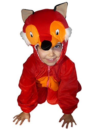Fantasy World Boy's F21 Fox Costume (3t-6)
