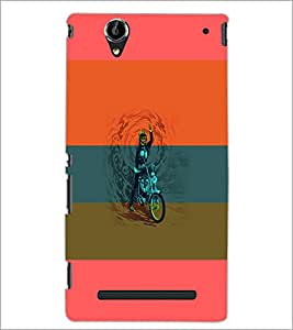 PrintDhaba Bike D-5952 Back Case Cover for SONY XPERIA T2 ULTRA (Multi-Coloured)