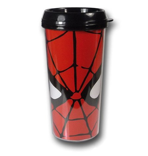 Spider-Man Eyes Plastic Travel Mug