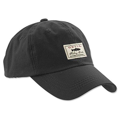 orvis-vintage-waxed-cotton-ball-cap-navy