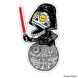Amazon.com: Star Wars Inspired Darth Vader Calavera Die