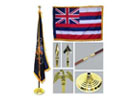 Indoor State Flagpole Kits