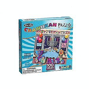 100 Piece Chanukah Jigsaw Puzzle