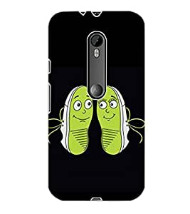 MOTOROLA MOTO G3 SHOES Back Cover by PRINTSWAG