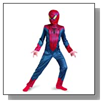 The Amazing Spider-man Movie Classic Costume, Red/Blue, X-Large (14-16)
