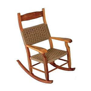 W.R. Perkins Indoor or Outdoor Rocking Chair - Brown