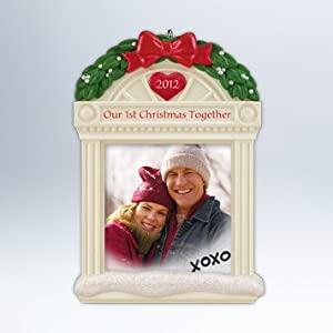 2012 Hallmark Keepsake Ornament Our 1st Christmas Together