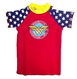 DC Comics Wonder Women Short Sleeve Rash Guard Top Infant 18M
