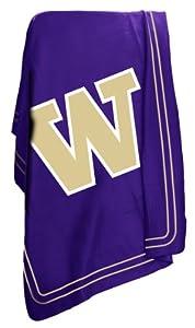 Buy NCAA Washington Huskies Classic Fleece Blanket by Logo