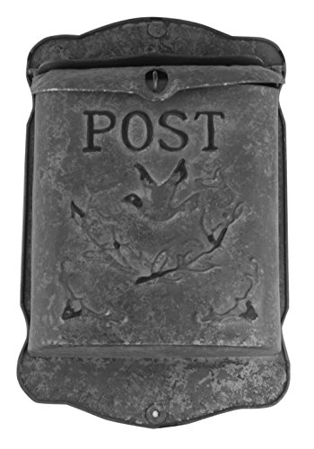 rustic-galvanized-metal-post-mailbox-country-style