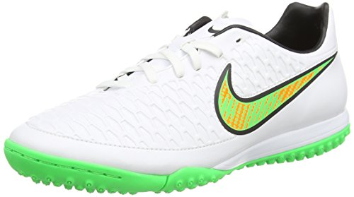 NikeMagista Onda Tf - Scarpe da Calcio uomo , Bianco (White (White/Psn Green/Blk/Ttl Orng 130)), 40.5 EU
