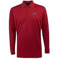 New Mexico Long Sleeve Polo Shirt (Team Color) by Antigua
