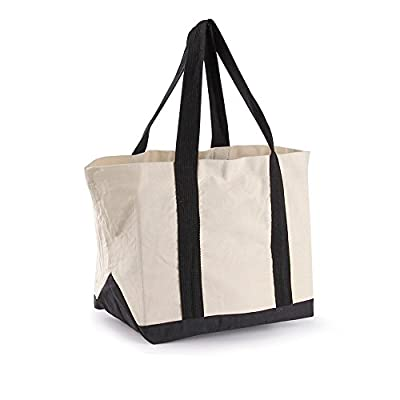 Eco Friendly Storage Canvas Tote Bag Reusable Grocery Shoulder Hand Shopper Beige