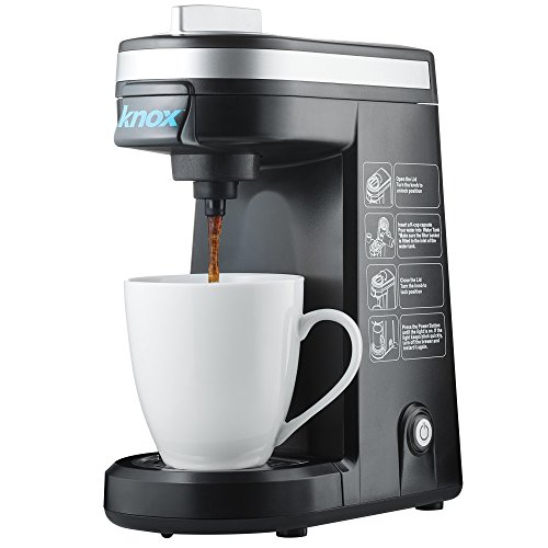 Knox KN-TKCUP Travel Size Single Serve K-Cup Coffee Brewer