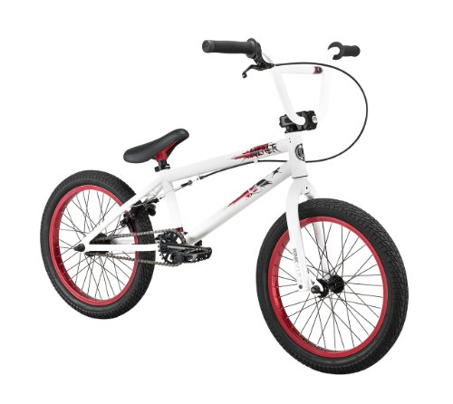 Kink Kicker 2013 BMX Bike (White/Red, 18-Inch)