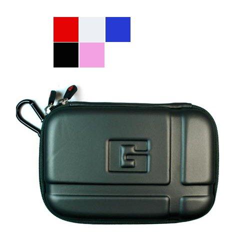 Durable Semi Hard Protective Gps Carrying Case For Garmin Nüvi 260W 4.3-Inch Widescreen Portable Gps Navigator, Gun Metal