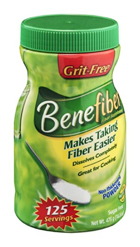 Benefiber Fiber Supplement Powder 125 Servings, 16.8 Oz (Pack Of 2)