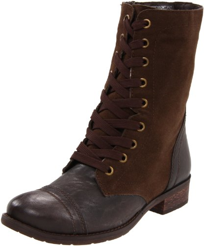 Wanted Shoes Women's Forge Bootie,Brown,5.5 M US