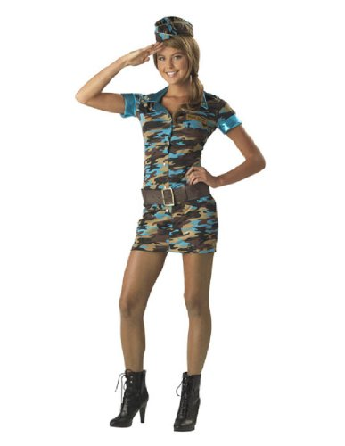 InCharacter Major Trouble Teen Army Costume