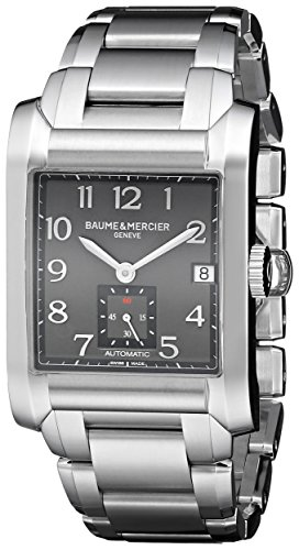 Baume & Mercier Baume & Mercier Men's A10048 Hampton Analog Display Swiss Automatic Silver Watch