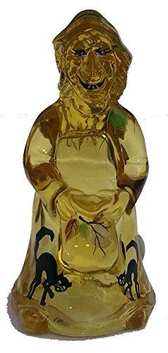 Fenton Witch Figurine Bronze Look