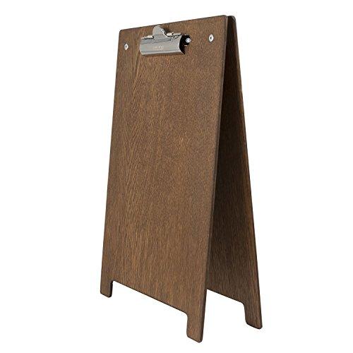 a4-a-frame-clipboard-with-dark-oak-finish-230mm-x-350mm-by-chalkboards-uk