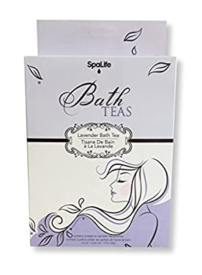 Spa Life Bath Tea Bags All Natural Essential Oils for Aromatherapy Bathing (See Scent Options)