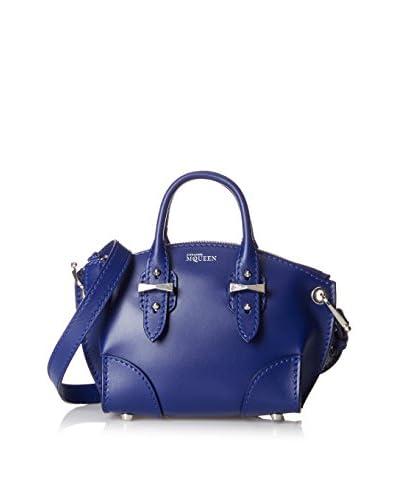 Alexander McQueen Women's Mini Legend Satchel, Blue As You See
