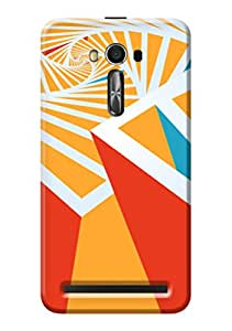 Asus Zenfone 2 Laser ZE550KL Designer Cover Kanvas Cases Premium Quality 3D Printed Lightweight Slim Matte Finish Hard Back Case for Asus Zenfone 2 Laser ZE550KL