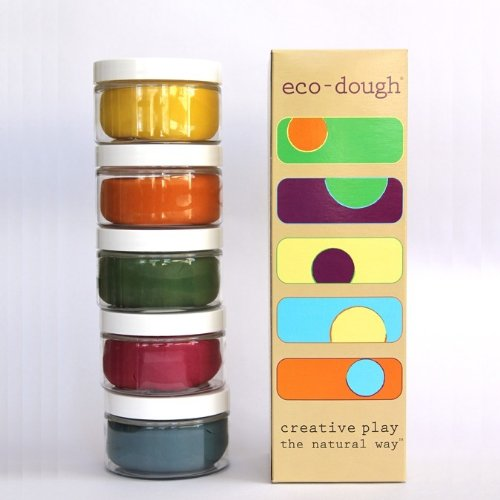 Eco Kids Natural Plant Dye Modeling Dough(Contains Gluten)