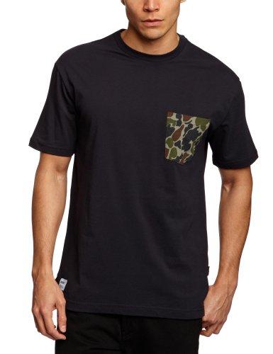 Addict Frogskin DPM Pocket Patterned Men's T-Shirt Black Large