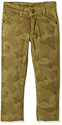 UFO Boys' Trousers (AW16-NDF-BKT-284_Olive Green_8 - 9 years)