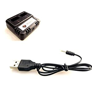 JMT New Version V911-21 USB Battery Charger for Wl V911 4ch Single Propeller Rc Helicopter Toys
