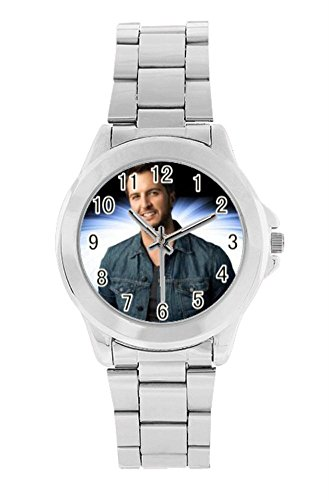 weishiding Luke Bryan Personalized Desigh customized Unisex Stainless Steel Watch (Luke Personalized compare prices)