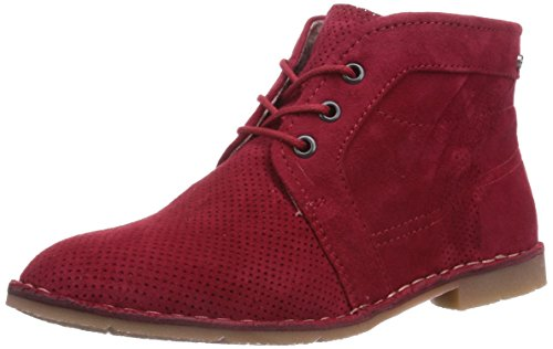 Marc Shoes 1.643.11-29/650-Roxana, Stivali donna, Rosso (Rot (red 650)), 42
